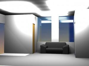 事務所3D画像